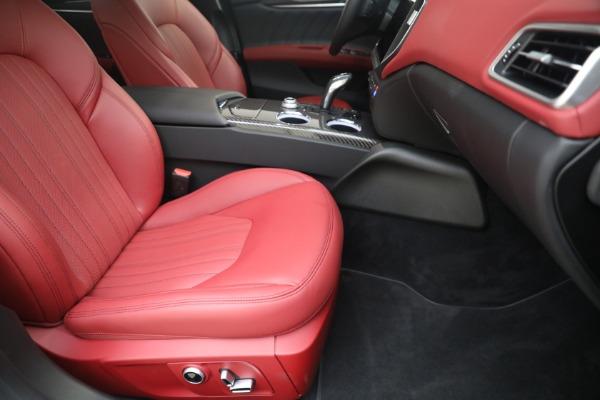 New 2021 Maserati Ghibli SQ4 GranLusso for sale Sold at Pagani of Greenwich in Greenwich CT 06830 23