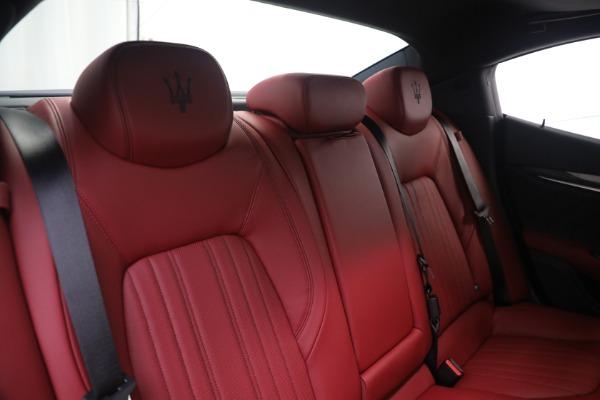 New 2021 Maserati Ghibli SQ4 GranLusso for sale Sold at Pagani of Greenwich in Greenwich CT 06830 24