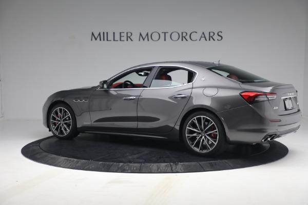 New 2021 Maserati Ghibli SQ4 GranLusso for sale Sold at Pagani of Greenwich in Greenwich CT 06830 4