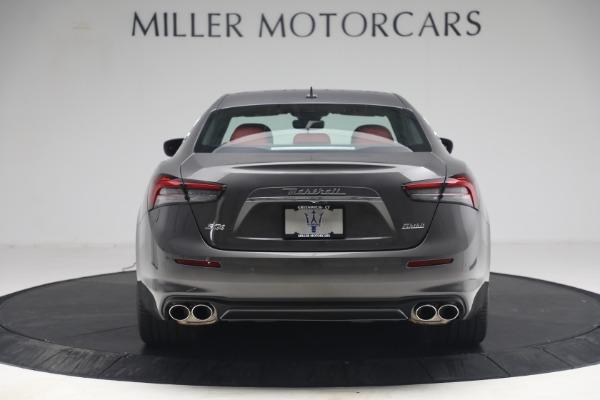 New 2021 Maserati Ghibli SQ4 GranLusso for sale Sold at Pagani of Greenwich in Greenwich CT 06830 6