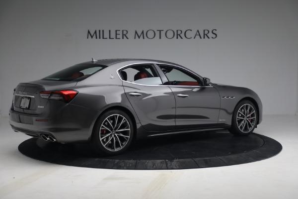 New 2021 Maserati Ghibli SQ4 GranLusso for sale Sold at Pagani of Greenwich in Greenwich CT 06830 8