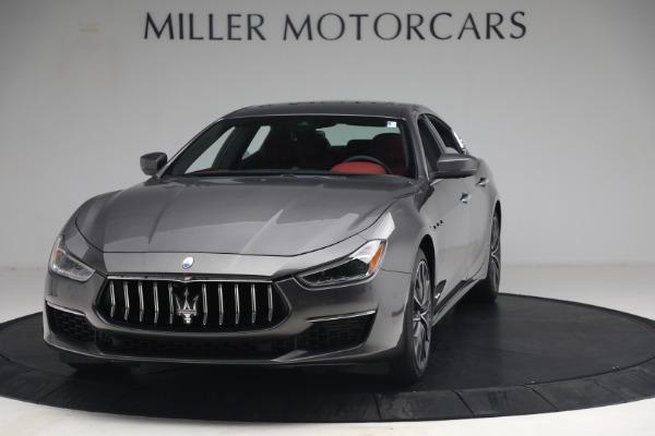 New 2021 Maserati Ghibli SQ4 GranLusso for sale Sold at Pagani of Greenwich in Greenwich CT 06830 1