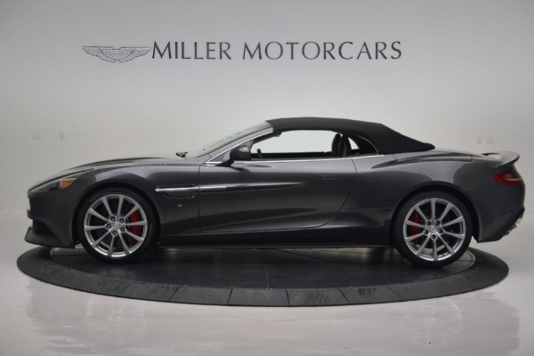 New 2016 Aston Martin Vanquish Volante for sale Sold at Pagani of Greenwich in Greenwich CT 06830 16