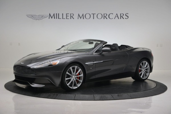 New 2016 Aston Martin Vanquish Volante for sale Sold at Pagani of Greenwich in Greenwich CT 06830 1