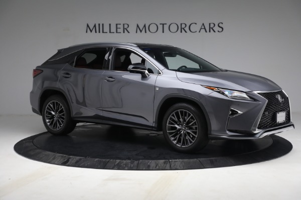 Used 2018 Lexus RX 350 F SPORT for sale $44,900 at Pagani of Greenwich in Greenwich CT 06830 10
