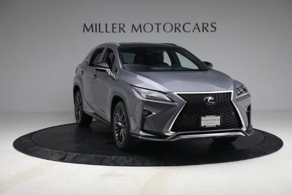 Used 2018 Lexus RX 350 F SPORT for sale $44,900 at Pagani of Greenwich in Greenwich CT 06830 11