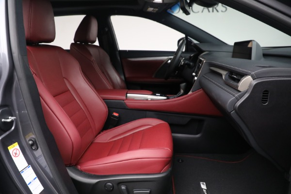 Used 2018 Lexus RX 350 F SPORT for sale $44,900 at Pagani of Greenwich in Greenwich CT 06830 19