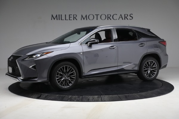 Used 2018 Lexus RX 350 F SPORT for sale $44,900 at Pagani of Greenwich in Greenwich CT 06830 2