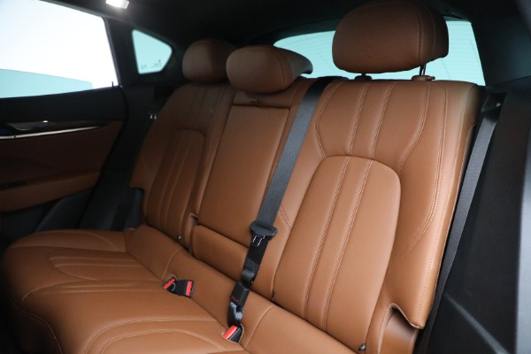 Used 2018 Maserati Levante GranSport for sale Sold at Pagani of Greenwich in Greenwich CT 06830 23