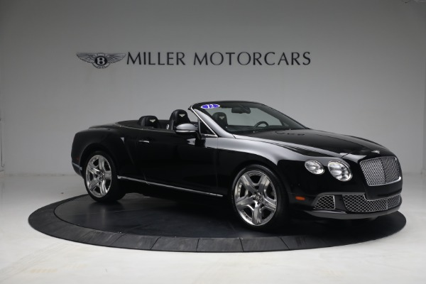 Used 2012 Bentley Continental GTC GT for sale $119,900 at Pagani of Greenwich in Greenwich CT 06830 10