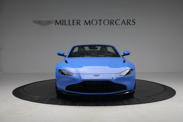 New 2021 Aston Martin Vantage Roadster for sale $186,386 at Pagani of Greenwich in Greenwich CT 06830 10