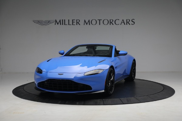 New 2021 Aston Martin Vantage Roadster for sale $186,386 at Pagani of Greenwich in Greenwich CT 06830 11