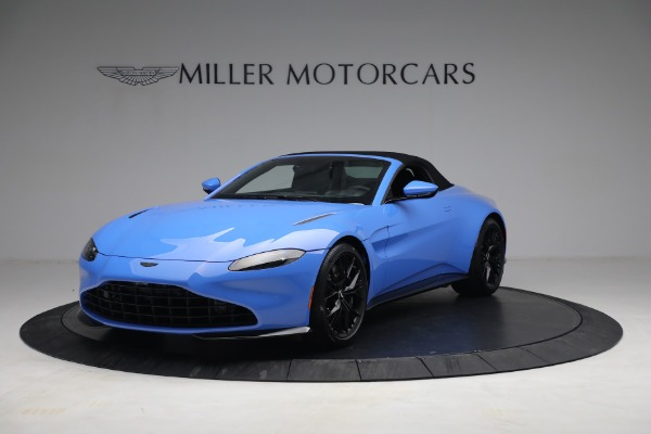 New 2021 Aston Martin Vantage Roadster for sale $186,386 at Pagani of Greenwich in Greenwich CT 06830 12