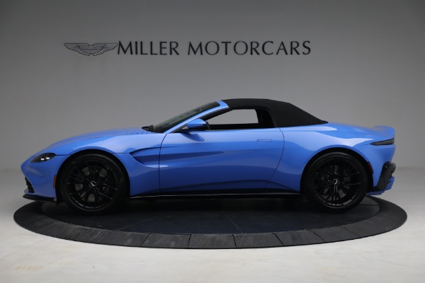 New 2021 Aston Martin Vantage Roadster for sale $186,386 at Pagani of Greenwich in Greenwich CT 06830 13