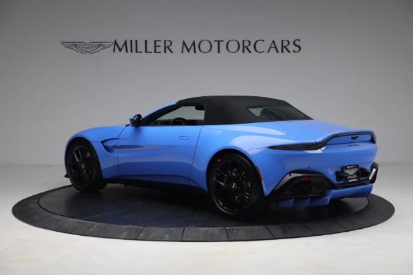 New 2021 Aston Martin Vantage Roadster for sale $186,386 at Pagani of Greenwich in Greenwich CT 06830 14