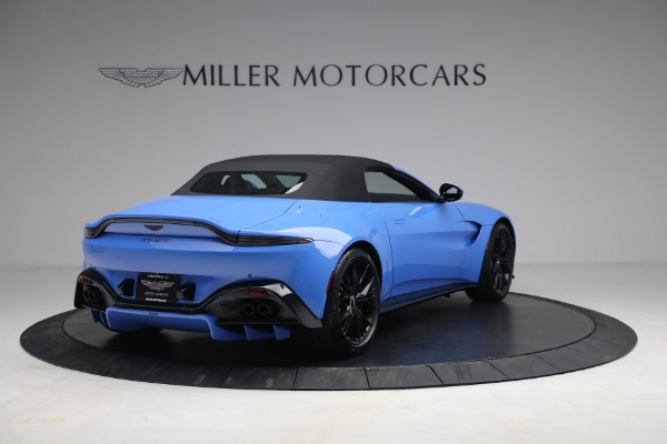 New 2021 Aston Martin Vantage Roadster for sale $186,386 at Pagani of Greenwich in Greenwich CT 06830 15