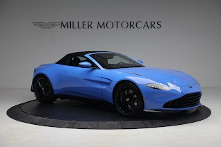 New 2021 Aston Martin Vantage Roadster for sale $186,386 at Pagani of Greenwich in Greenwich CT 06830 17