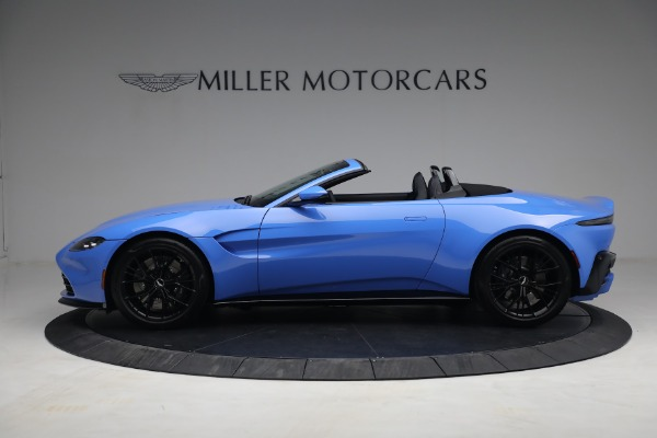 New 2021 Aston Martin Vantage Roadster for sale $186,386 at Pagani of Greenwich in Greenwich CT 06830 2