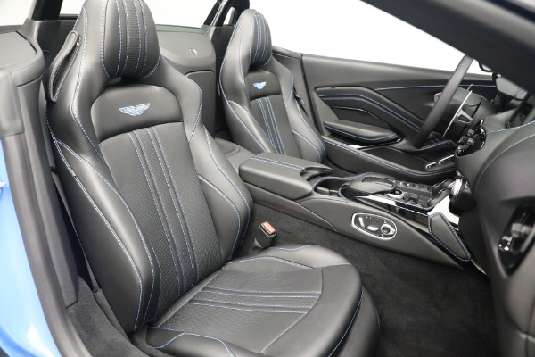 New 2021 Aston Martin Vantage Roadster for sale $186,386 at Pagani of Greenwich in Greenwich CT 06830 22