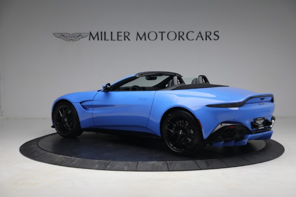 New 2021 Aston Martin Vantage Roadster for sale $186,386 at Pagani of Greenwich in Greenwich CT 06830 3