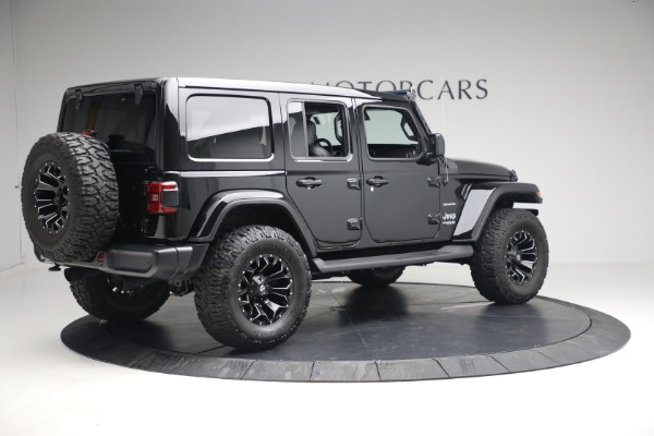 Used 2020 Jeep Wrangler Unlimited Sahara for sale Sold at Pagani of Greenwich in Greenwich CT 06830 10