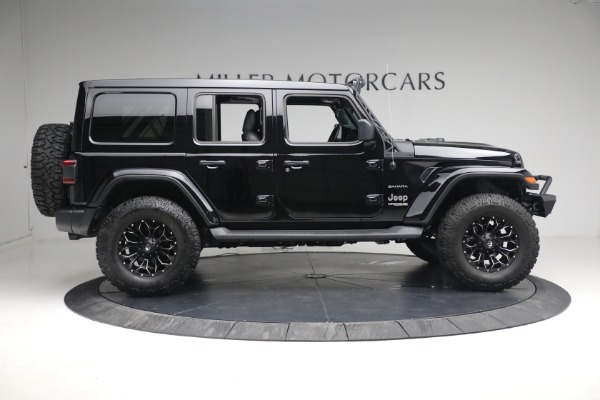 Used 2020 Jeep Wrangler Unlimited Sahara for sale Sold at Pagani of Greenwich in Greenwich CT 06830 11