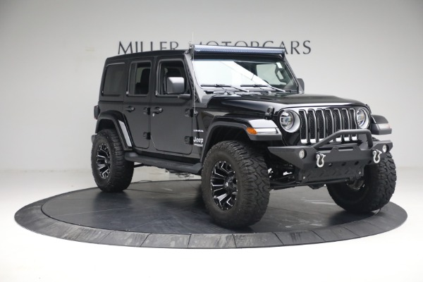 Used 2020 Jeep Wrangler Unlimited Sahara for sale Sold at Pagani of Greenwich in Greenwich CT 06830 13