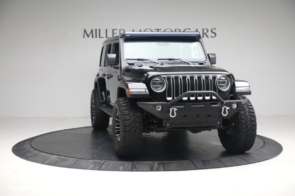 Used 2020 Jeep Wrangler Unlimited Sahara for sale Sold at Pagani of Greenwich in Greenwich CT 06830 14