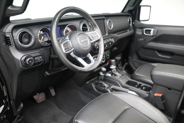 Used 2020 Jeep Wrangler Unlimited Sahara for sale Sold at Pagani of Greenwich in Greenwich CT 06830 19