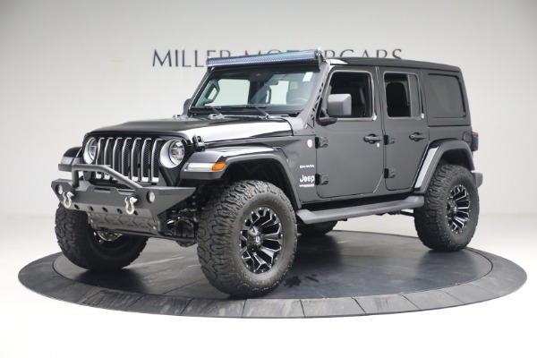 Used 2020 Jeep Wrangler Unlimited Sahara for sale Sold at Pagani of Greenwich in Greenwich CT 06830 2