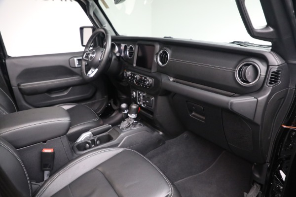 Used 2020 Jeep Wrangler Unlimited Sahara for sale Sold at Pagani of Greenwich in Greenwich CT 06830 20