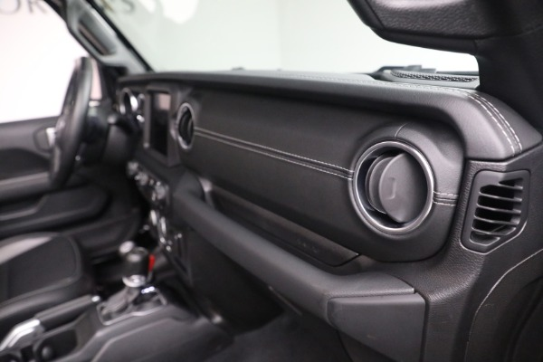 Used 2020 Jeep Wrangler Unlimited Sahara for sale Sold at Pagani of Greenwich in Greenwich CT 06830 21