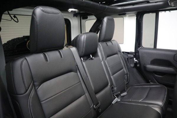 Used 2020 Jeep Wrangler Unlimited Sahara for sale Sold at Pagani of Greenwich in Greenwich CT 06830 24