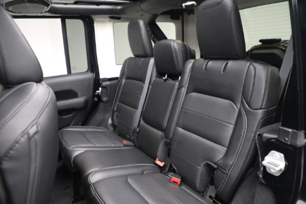 Used 2020 Jeep Wrangler Unlimited Sahara for sale Sold at Pagani of Greenwich in Greenwich CT 06830 25