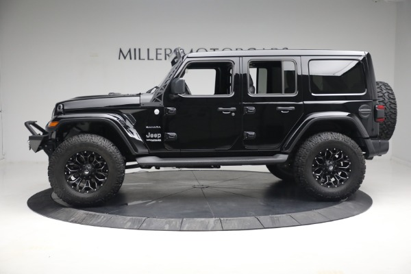 Used 2020 Jeep Wrangler Unlimited Sahara for sale Sold at Pagani of Greenwich in Greenwich CT 06830 4