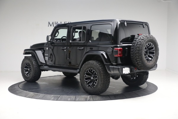 Used 2020 Jeep Wrangler Unlimited Sahara for sale Sold at Pagani of Greenwich in Greenwich CT 06830 6