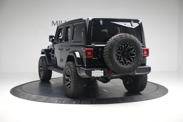 Used 2020 Jeep Wrangler Unlimited Sahara for sale Sold at Pagani of Greenwich in Greenwich CT 06830 7