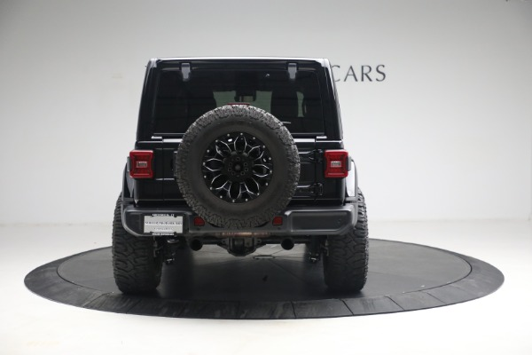 Used 2020 Jeep Wrangler Unlimited Sahara for sale Sold at Pagani of Greenwich in Greenwich CT 06830 8