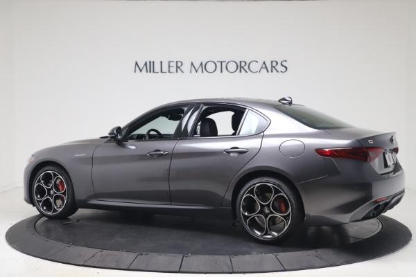 New 2022 Alfa Romeo Giulia Veloce for sale $49,245 at Pagani of Greenwich in Greenwich CT 06830 4
