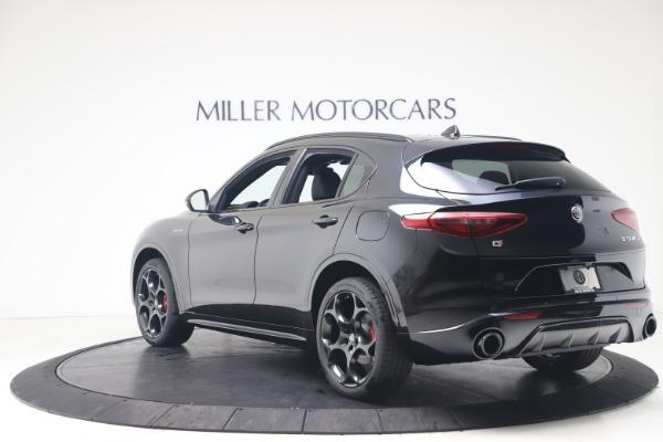 New 2022 Alfa Romeo Stelvio Veloce for sale $57,405 at Pagani of Greenwich in Greenwich CT 06830 5