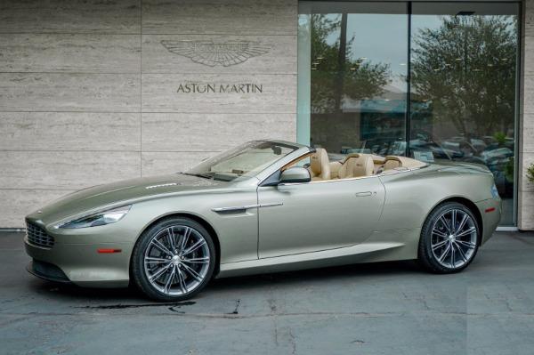 Used 2015 Aston Martin DB9 Volante for sale $119,990 at Pagani of Greenwich in Greenwich CT 06830 2