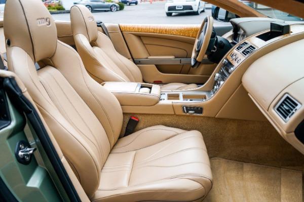 Used 2015 Aston Martin DB9 Volante for sale $119,990 at Pagani of Greenwich in Greenwich CT 06830 6
