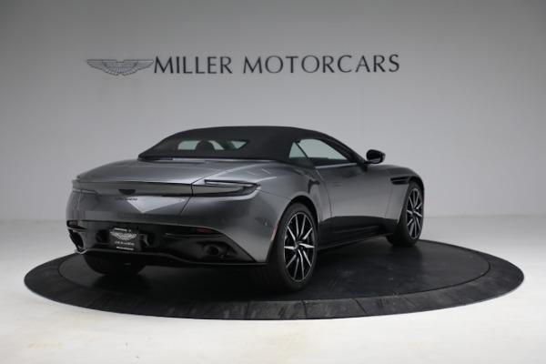 New 2021 Aston Martin DB11 Volante for sale $260,286 at Pagani of Greenwich in Greenwich CT 06830 26
