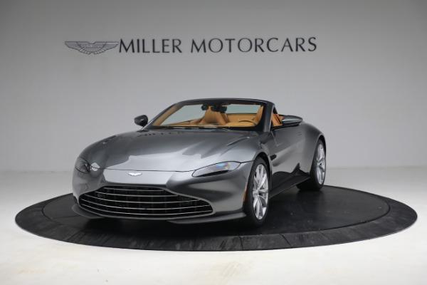 New 2021 Aston Martin Vantage Roadster for sale $174,586 at Pagani of Greenwich in Greenwich CT 06830 12