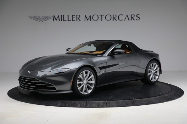 New 2021 Aston Martin Vantage Roadster for sale $174,586 at Pagani of Greenwich in Greenwich CT 06830 18