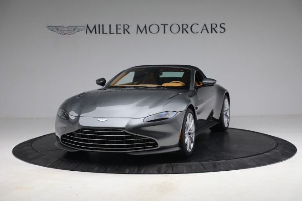 New 2021 Aston Martin Vantage Roadster for sale $174,586 at Pagani of Greenwich in Greenwich CT 06830 23