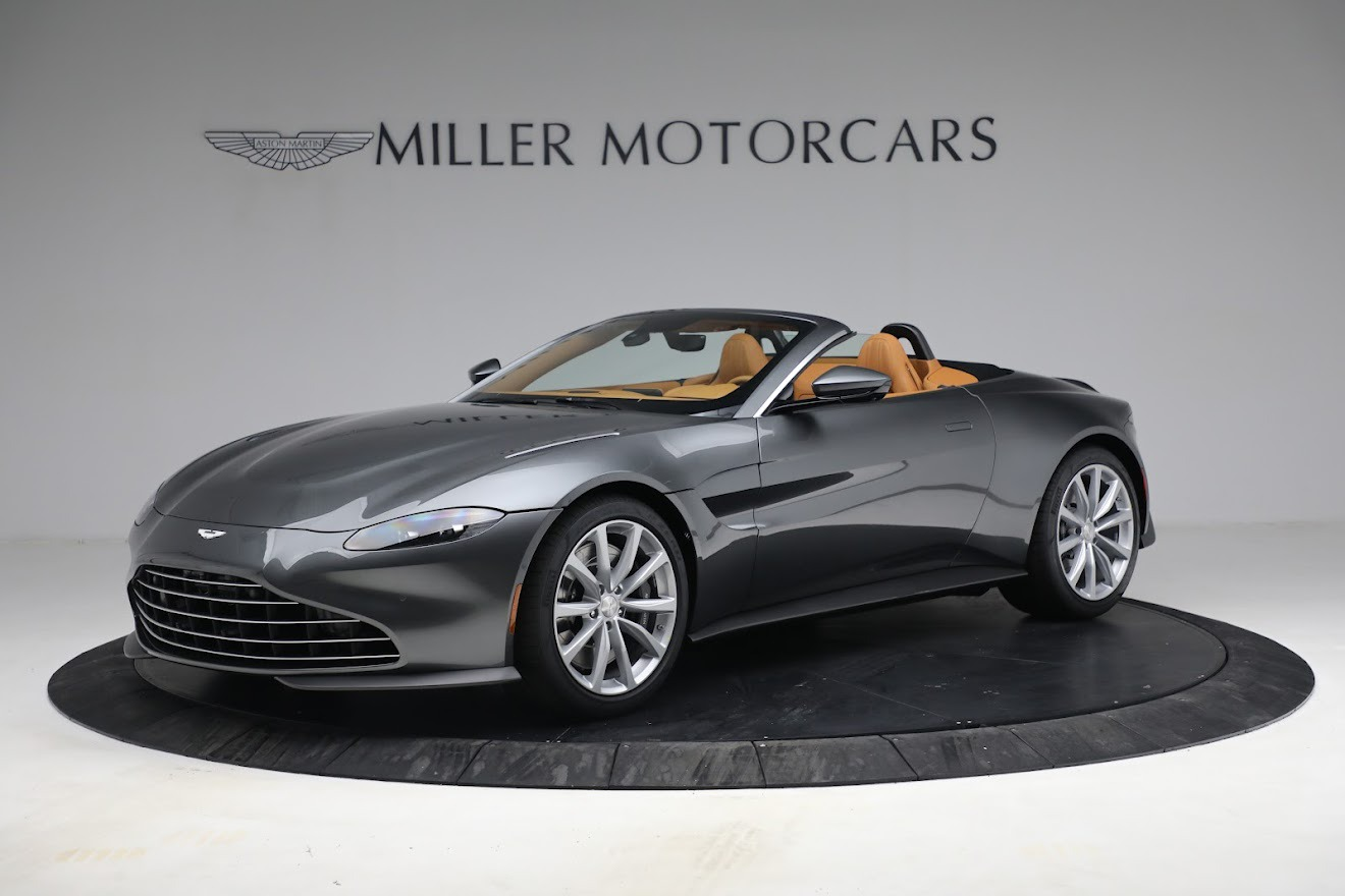 New 2021 Aston Martin Vantage Roadster for sale $174,586 at Pagani of Greenwich in Greenwich CT 06830 1