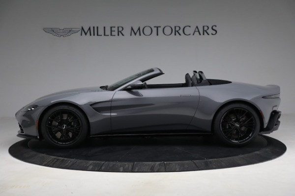 New 2021 Aston Martin Vantage Roadster for sale $180,286 at Pagani of Greenwich in Greenwich CT 06830 2