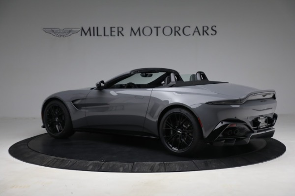 New 2021 Aston Martin Vantage Roadster for sale $180,286 at Pagani of Greenwich in Greenwich CT 06830 3