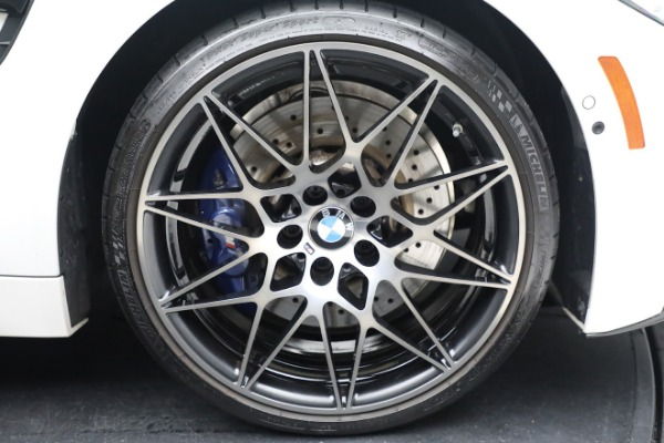 Used 2019 BMW M4 for sale $71,900 at Pagani of Greenwich in Greenwich CT 06830 28